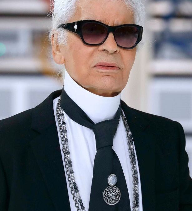 Yesterday the world lost a legend: Karl Lagerfeld