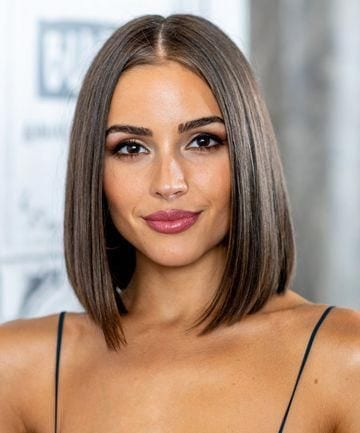 The center part, sleek bob!